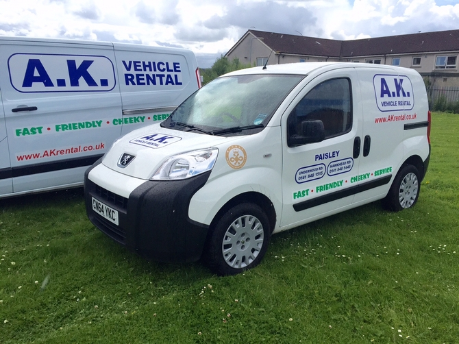 Small Van Hire