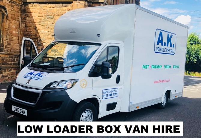 Low Loader Luton Box