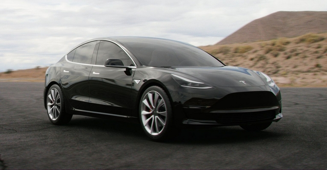 Tesla Model 3 Fully Electric