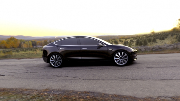 Tesla Model 3 Fully Electric